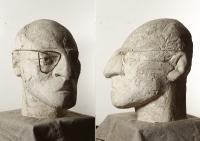 1962 «Автопортрет», гипс