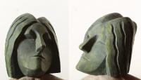 1998 Античная сюита VII, Нимфа I, 22,5х19,5х25,5, гипс