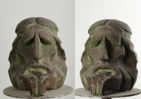 1998 Античная сюита I. Рапсод (Гомер), тонированный гипс, 27х23х30