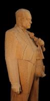 1960 «Портрет Давида Ойстраха» 215х72х54, дерево
