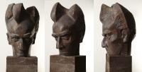 1962 «Лев Ландау», 56x41x37, кованая медь