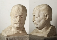 1977 «Шота Бебеашвили», шамот. 53х33х33