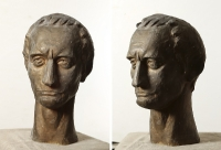 1975 «Юлий Цезарь» 48x27x32, бронза