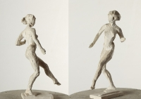 Танец II, 27 см, гипс