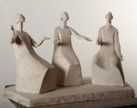 1999 Античная сюита XI. Мойры - богини судьбы, 29,5х49х25